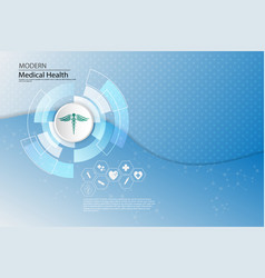 abstract background medical health care concept vector image