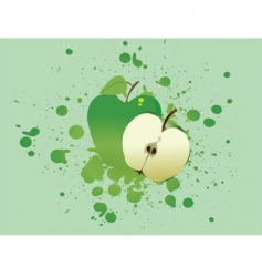 apple blast vector image