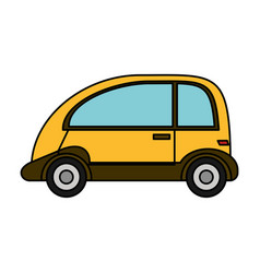 Automobile vehicle eco image vector