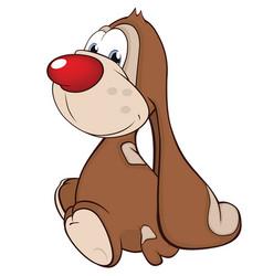 cute rabbit cartoon character vector image