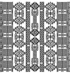 Greek ancient borders seamless pattern vector