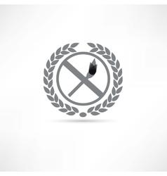 Match icon vector