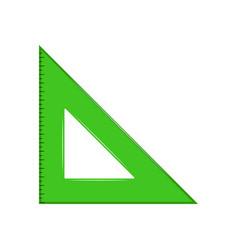 Squad ruler icon vector