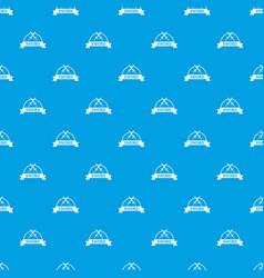 sword warrior pattern seamless blue vector image