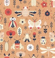 Fantasy Bugs vector image