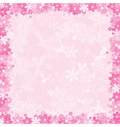 loral Pink Background vector image vector image