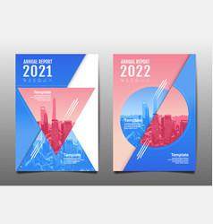 annual report 202020212022 future business vector image