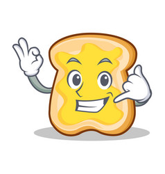 Call me slice bread cartoon character vector