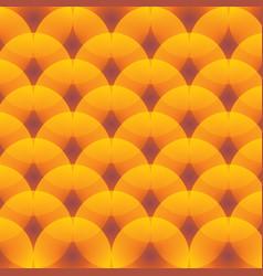Circles art pattern with luminous elements vector
