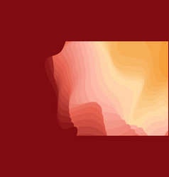 colorful paper layers 3d abstract gradient vector image