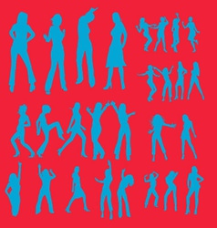 Dancing Girl 2 vector image