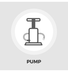 Pump flat icon vector image