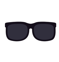 sunglasses isolated icon design vector image