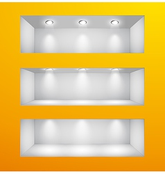 wall goriz vector image vector image