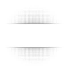 White abstract background gray geometric halftone vector image