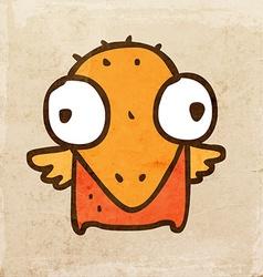 bachick cartoon vector image