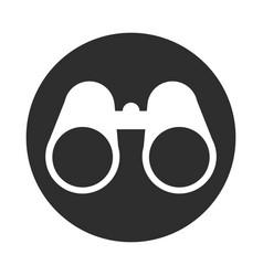 Binocular observation look equipment block and vector