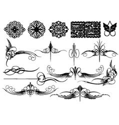 Fleurettes vector
