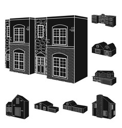 isolated object of renovation and infrastructure vector image