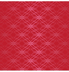 seamless vector dark red pattern vector image