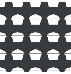 Straight black pot pattern vector