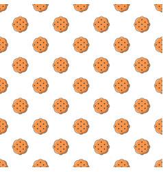 swedish food pattern seamless vector image