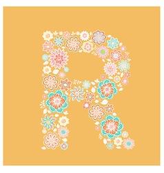 Alphabet Letter vector image vector image