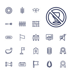 22 banner icons vector