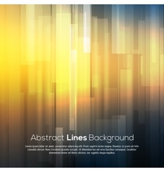 Abstract smooth background with lines and deep vector