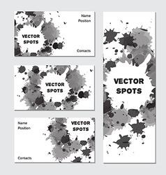 Art business card vector