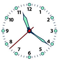 Clock dial icon vector