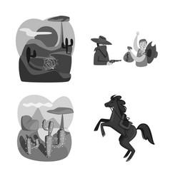 Ranch and farm symbol vector