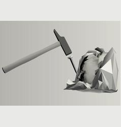 sculpture vector image