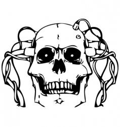 Vector skull vector