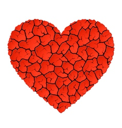 Heart without love vector image vector image