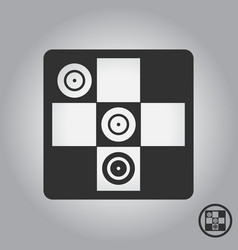 Twister game party board game vector