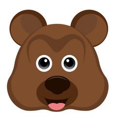 avatar of a bear vector image vector image