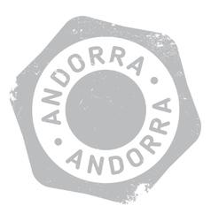 Andorra stamp rubber grunge vector