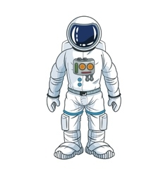Astronaut space cartoon design vector
