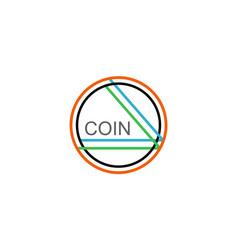 Coin - altcoin crypto moneta vector