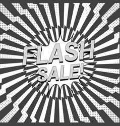 comic monochrome advertising concept vector image
