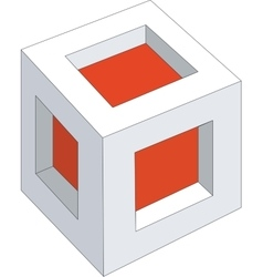 Cubes color 11 vector