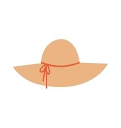 Panama hat vector image