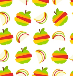 Various Type of Fruits Slices vector image