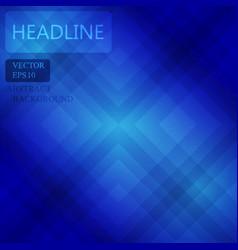 Blue background wallpaper square pattern design vector