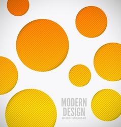 Modern background holes vector image