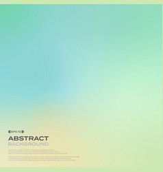 abstract of gradient green nature background vector image