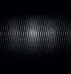 black steel metal plate background vector image