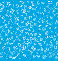 Car wash pattern vector