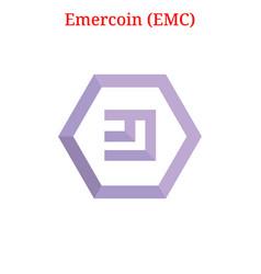 Emercoin emc logo vector